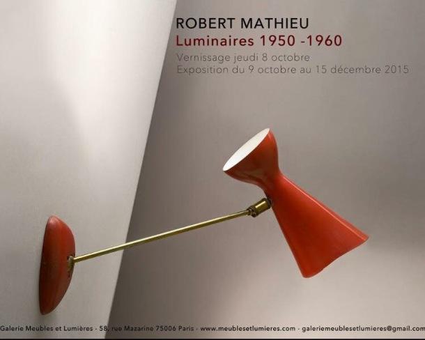 Robert MATHIEU du 8 octobre au 15 décembre 2015