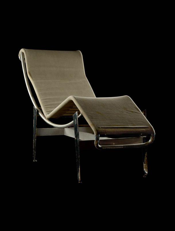 chaise longue Charlotte PERRIAND, LE CORBUSIER Pierre JEANNERET thonet b306 1930