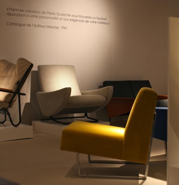 Expo Pierre Guariche - les introuvables - design elysees 2015 6