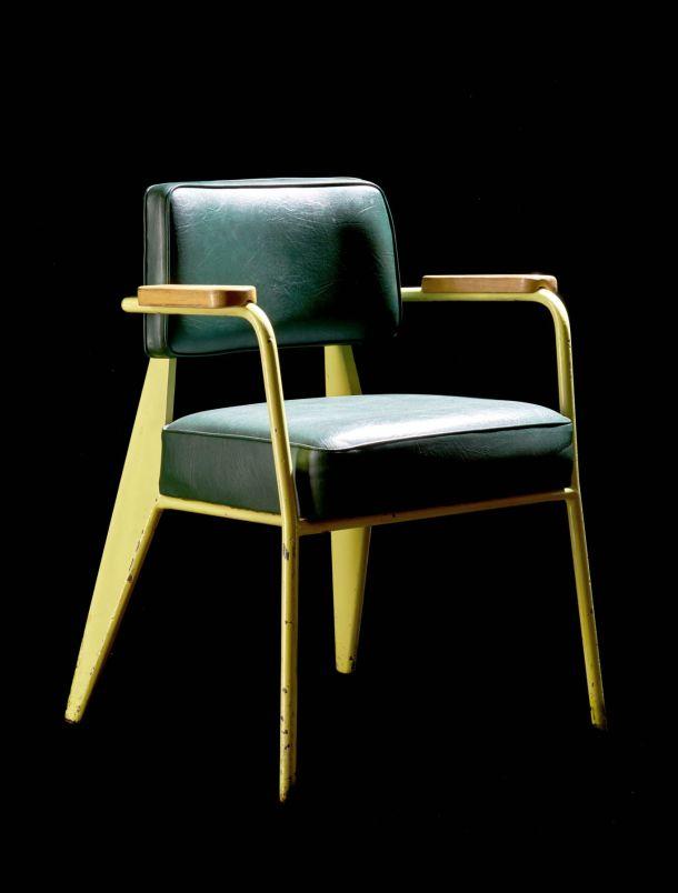 fauteuil bridge directeur jean prouvé  1952