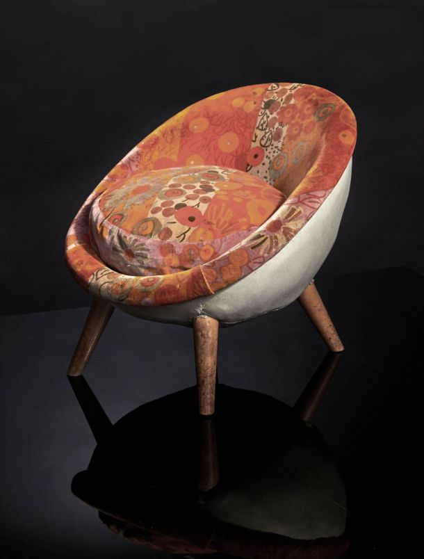 fauteuil oeuf enfant jean royère 1953