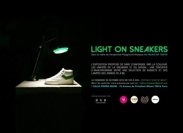 NOTRE EXPO #lightonsneakers PALAIS DE TOKYO