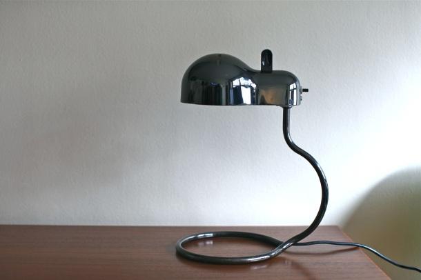 lampe mini topo joe colombo édition stilnovo 1970 2