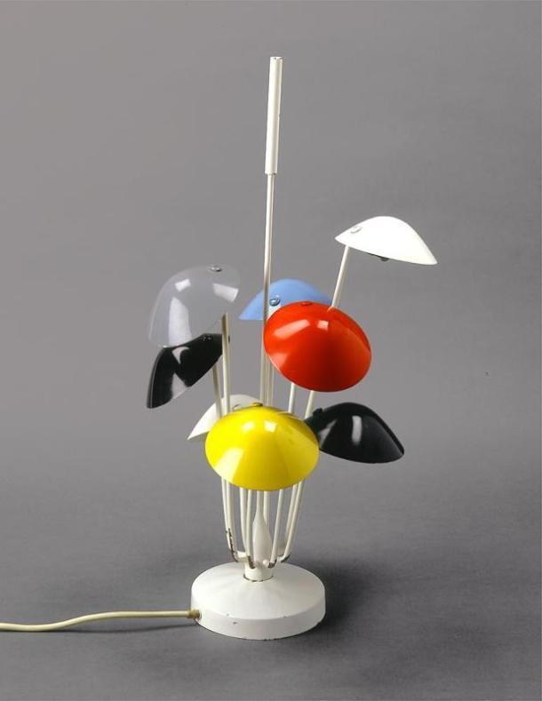 LAMPE 534 PAR GINO SARFATTI - ARTELUCE 1951