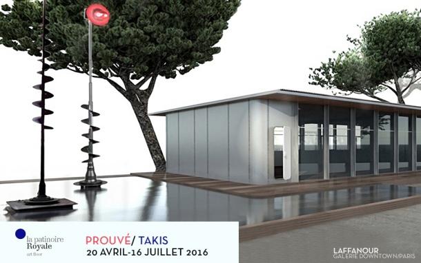 EXPO PROUVE  TAKIS GALERIE DOWNTOWN LAFFANOUR
