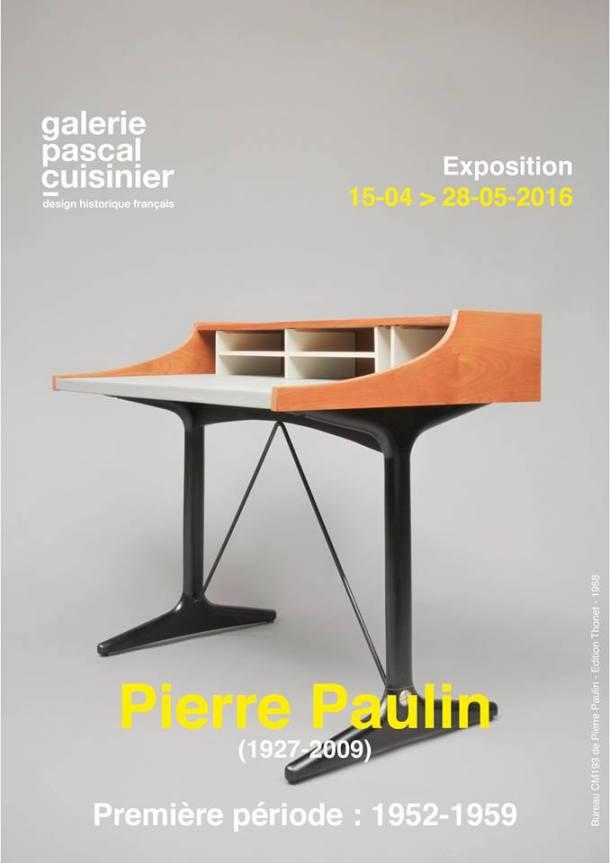 PIERRE PAULIN  PREMIERE PERIODE 1952 1959 GALERIE PASCAL CUISINIER 2