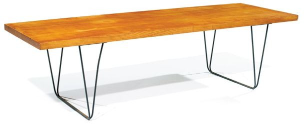TABLE BASSE CM191 PAR PIERRE PAULIN - THONET 1957