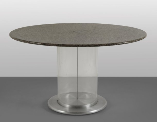TABLE ELISSE PAR CLAUDIO SALOCCHI - SORMANI 1968