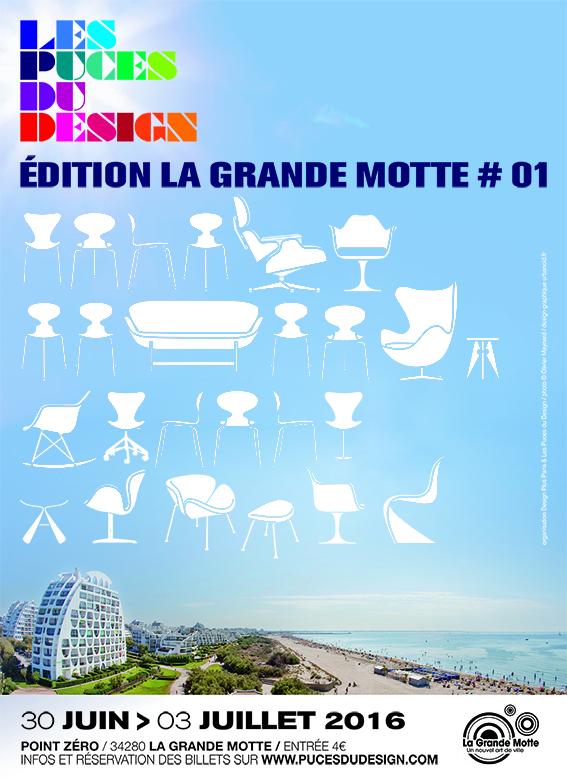 LES PUCES DU DESIGN @ LA GRANDE MOTTE