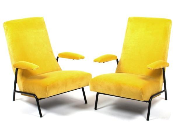 fauteuils Guy Besnard 1950