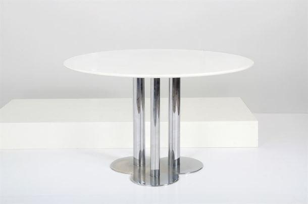 TABLE TREFLE PAR SERGIO ASTI - POLTRONOVA 1968