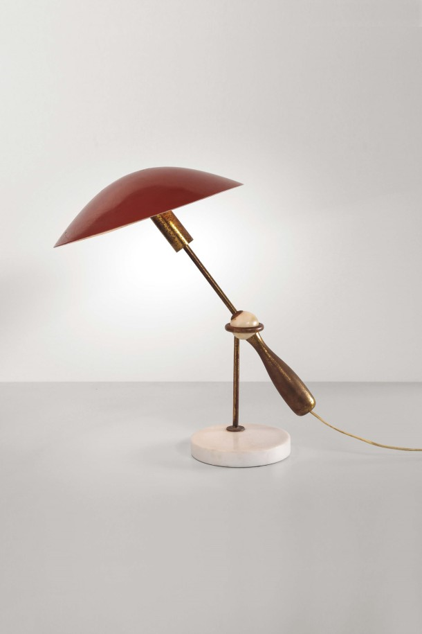 LAMPE 524 PAR GINO SARFATTI - ARTELUCE 1950