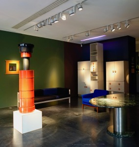 expo ettore sottsass - galerie downtown laffanour 10 2017 2
