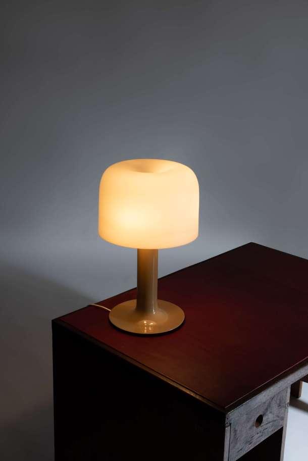 LAMPE 10497 - MICHEL MORTIER - VERRE LUMIERE 1972 - artcurial