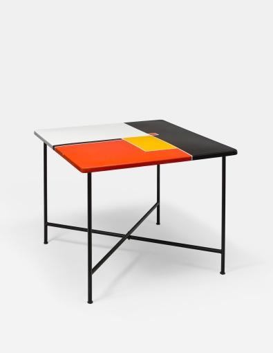 Table tôle émaillée Mathieu Matégot 1955 - Galerie Matthieu Richard