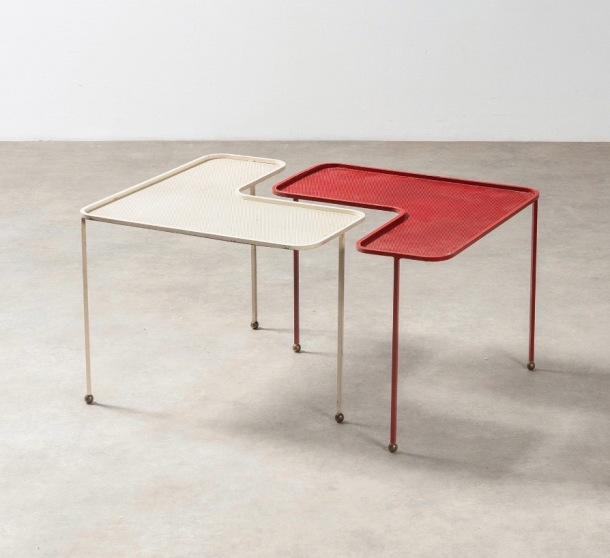 TABLES DOMINO - MATHIEU MATEGOT 1955 PBA